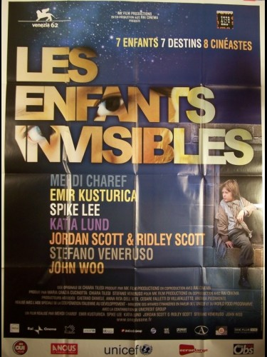 Affiche du film ENFANTS INVISIBLES (LES) - ALL THE INVISIBLE CHILDREN