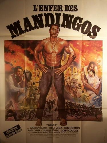 Affiche du film ENFER DES MANDINGOS (L') - DRUM