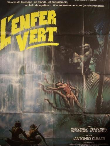 Affiche du film ENFER VERT (L')