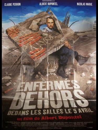 Affiche du film ENFERMES DEHORS