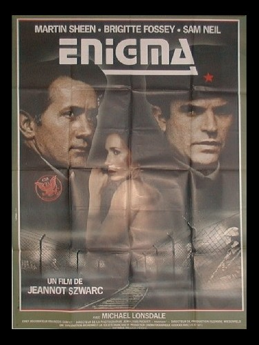 Affiche du film ENIGMA