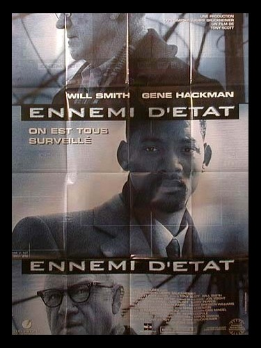 Affiche du film ENNEMI D'ETAT - ENEMY OF THE STATE