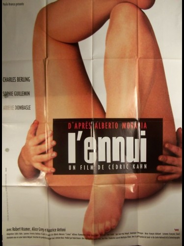 Affiche du film ENNUI (L')