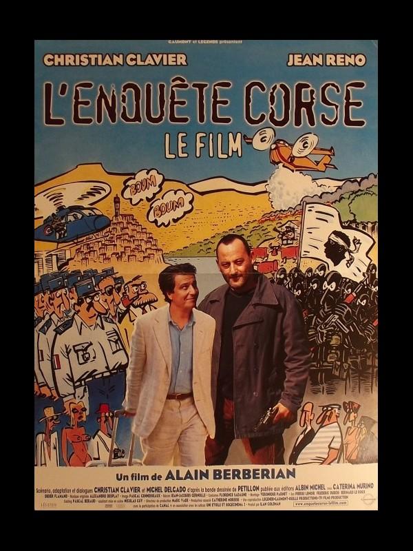 Affiche du film ENQUETE CORSE (L')