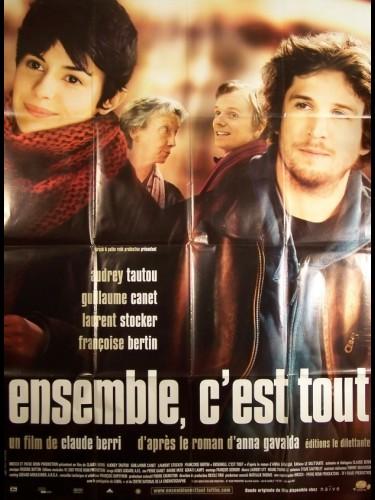 Affiche du film ENSEMBLE,C'EST TOUT - HUNTING AND GATHERING