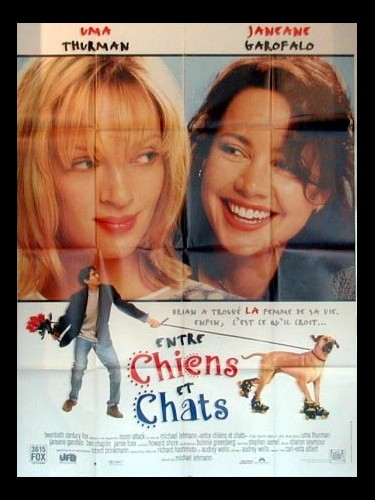 Affiche du film ENTRE CHIENS ET CHATS - THE TRUTH ABOUT CATS AND DOGS