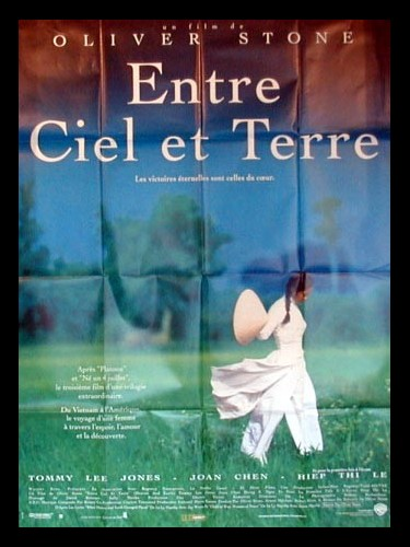 Affiche du film ENTRE CIEL ET TERRE - HEAVEN AND EARTH