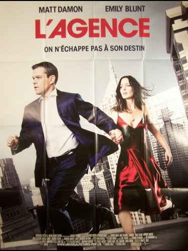Affiche du film AGENCE (L') - THE ADJUSTMENT BUREAU