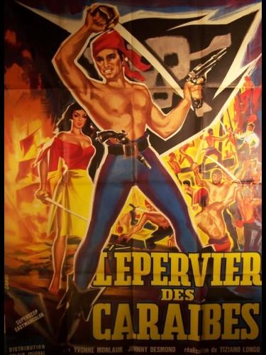 Affiche du film EPERVIER DES CARAIBES (L') - LO SPARVIERO DI CARAIBI