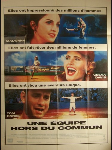 Affiche du film EQUIPE HORS DU COMMUN (UNE) - A LEAGUE OF THEIR OWN