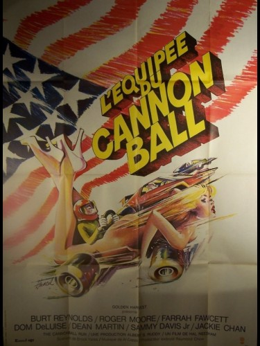 Affiche du film EQUIPEE DU CANON BALL (L') - THE CANNONBALL RUN