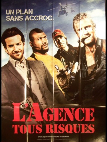 Affiche du film AGENCE TOUT RISQUE (L') - THE A-TEAM