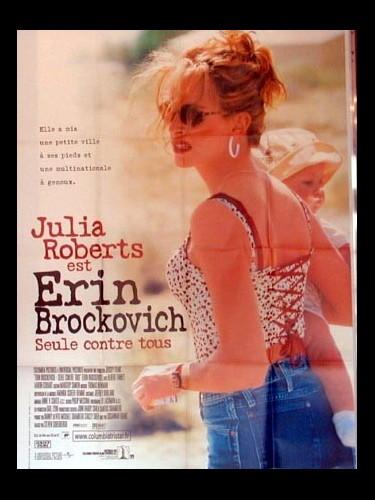 Affiche du film ERIN BROCKOVICH