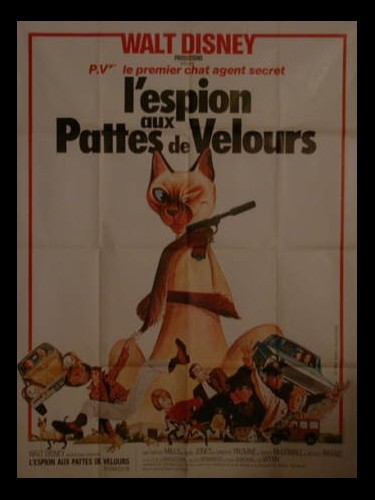 Affiche du film ESPION AUX PATTES DE VELOURS (L') - THAT DARN CAT !