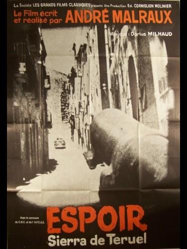 Affiche du film ESPOIR
