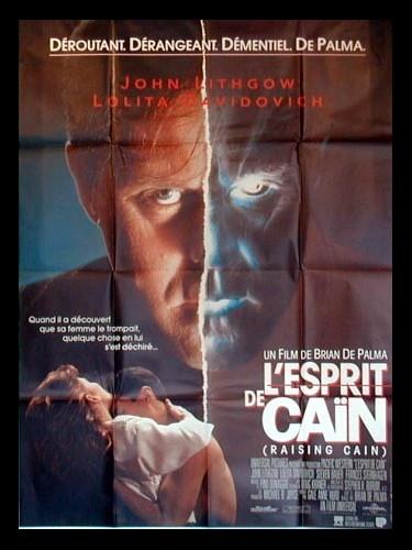 Affiche du film ESPRIT DE CAIN (L') - RAISING CAIN