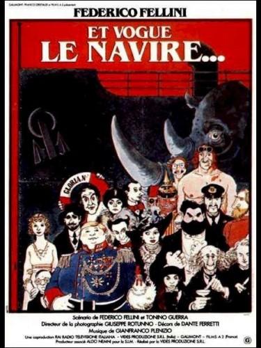 Affiche du film ET VOGUE LE NAVIRE - E LA NAVE VA