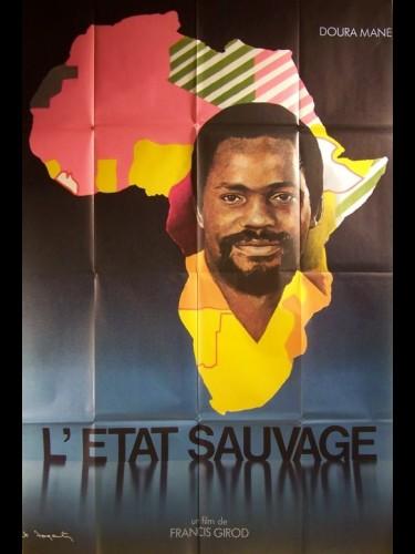 Affiche du film ETAT SAUVAGE (L') DOURA MANE