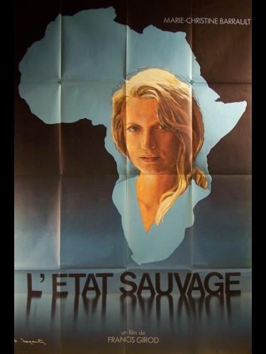 Affiche du film ETAT SAUVAGE (L') MARIE CHRISTINE BARRAULT