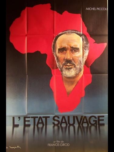 Affiche du film ETAT SAUVAGE (L') MICHEL PICCOLI