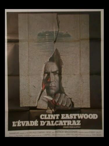 Affiche du film EVADE D'ALCATRAZ (L')