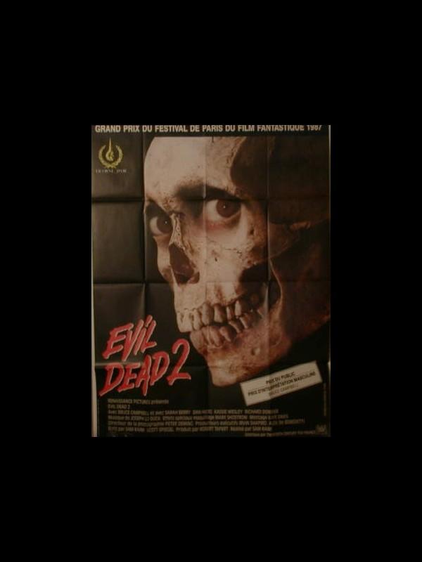 Affiche du film EVIL DEAD 2