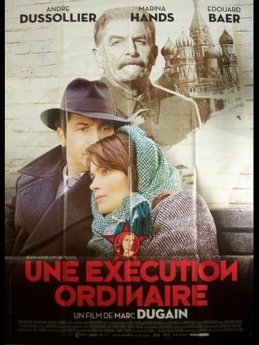 Affiche du film EXECUTION ORDINAIRE (UNE)