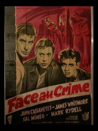 Affiche du film FACE AU CRIME - CRIME IN THE STREETS