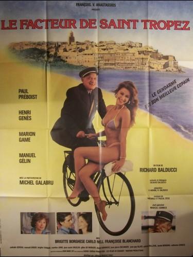 Affiche du film FACTEUR DE SAINT TROPEZ (LE)