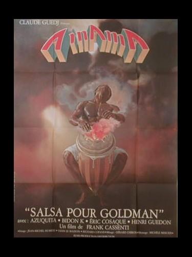 Affiche du film AINAMA, SALSA POUR GOLDMAN