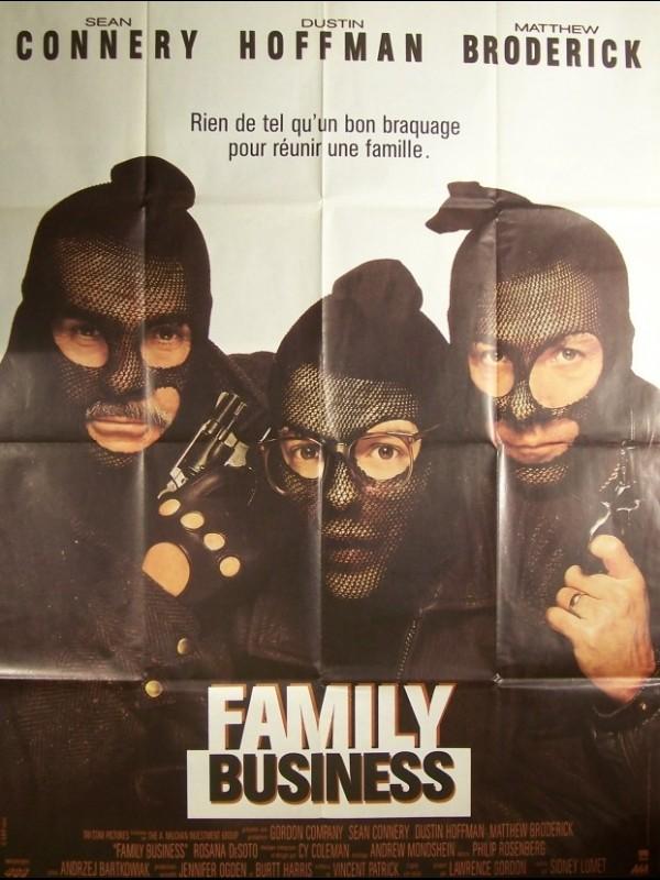Affiche du film FAMILY BUSINESS