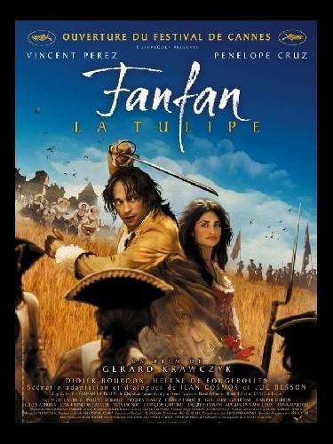 Affiche du film FANFAN LA TULIPE