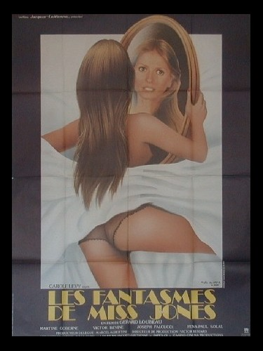 Affiche du film FANTASMES DE MISS JONES (LES)