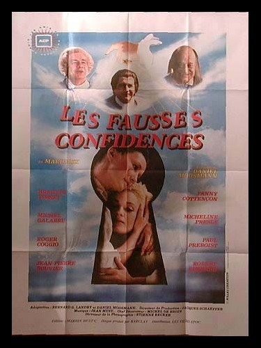 Affiche du film FAUSSES CONFIDENCES (LES)
