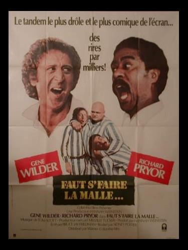 Affiche du film FAUT S'FAIRE LA MALLE - STIR CRAZY