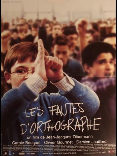 Affiche du film FAUTES D'ORTOGRAPHE (LES)