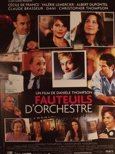 FAUTEUIL D'ORCHESTRE - ORCHESTRA SEATS