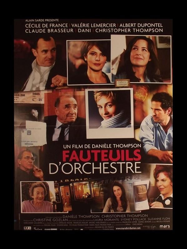 Affiche du film FAUTEUIL D'ORCHESTRE - ORCHESTRA SEATS
