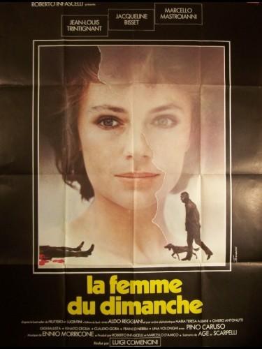 Affiche du film FEMME DU DIMANCHE (LA) - LA DONNA DELLA DOMENICA