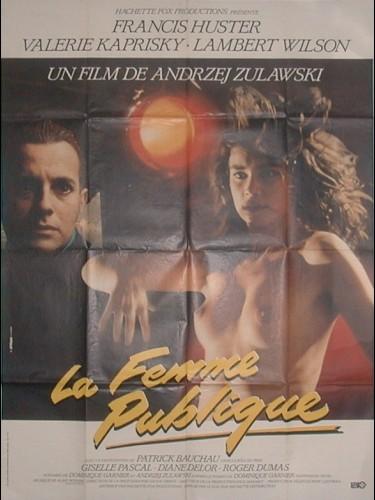 Affiche du film FEMME PUBLIQUE (LA)