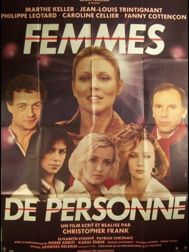 Affiche du film FEMMES DE PERSONNE