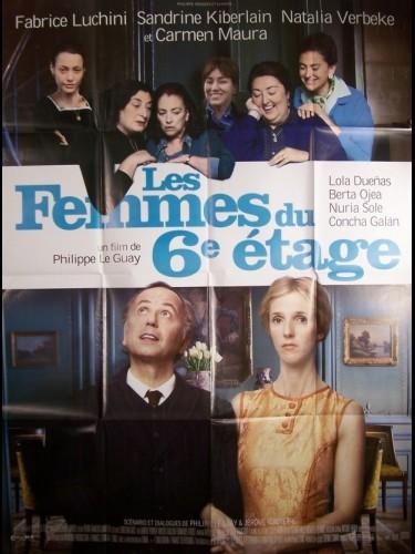 Affiche du film FEMMES DU 6EME ETAGE (LES)