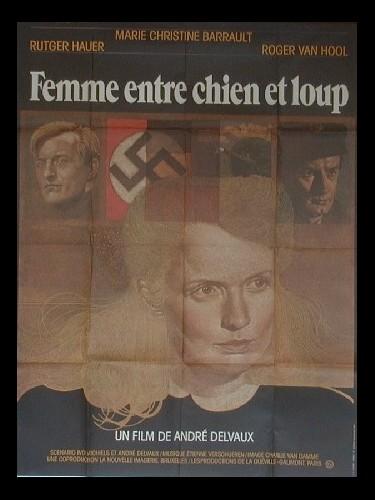 Affiche du film FEMMES ENTRE CHIEN ET LOUP - EEN VROUW TUSSEN HOND EN WOLF