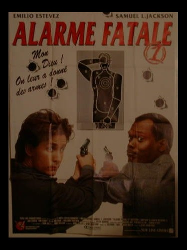 Affiche du film ALARME FATALE - NATIONAL LAMPOON'S LOADED WEAPON