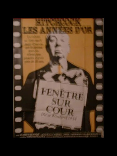 Affiche du film FENETRE SUR COUR - REAR WINDOW
