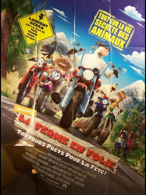 Affiche du film FERME EN FOLIE (LA) - BARNYARD