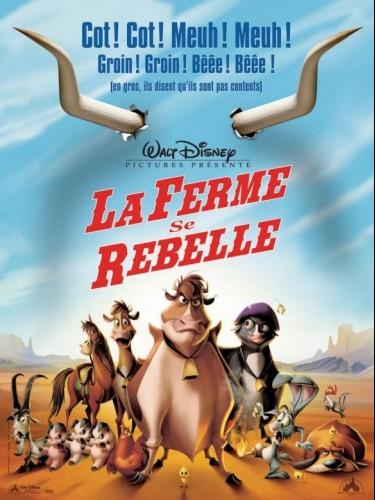 Affiche du film FERME SE REBELLE (LA) - HOME ON THE RANGE