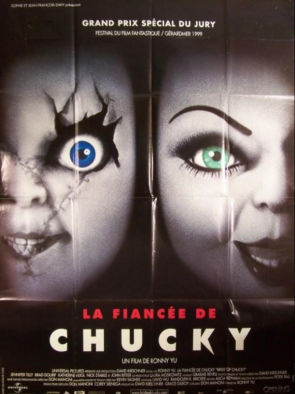 Affiche du film FIANCEE DE CHUCKY (LA) - BRIDE OF CHUCKY