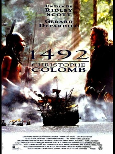 1492 CHRISTOPHE COLOMB