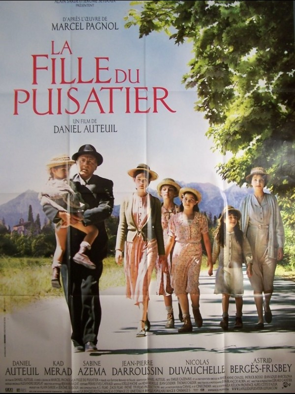 Affiche film Martine 26/06 Bravo Ajonc Fille-du-puisatier-la-the-well-digger-s-daughter